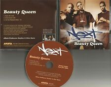 NEXT Beauty Queen  w/ RARE RADIO MIX & INSTRUMENTAL PROMO DJ CD single 2000 USA