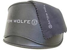 TOM WOLFE Sunglasses Case & Lense Cloth Lunettes Gafas Occhiali Sonnenbrille