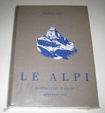 Federico Sacco LE ALPI Touring Club Italiano CAI 1934