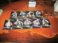 2014 NRL TRADERS NORTH COWBOYS SPECIAL PARALLEL 9 CARD NEAR COMPLETE TEAM SET