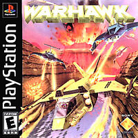 Warhawk Playstation 1 PS1 Game Disc Only 26A First One Release! Kids Jet Planes