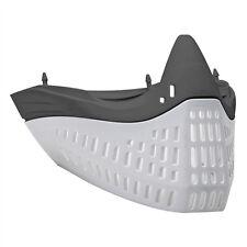 Empire E-Flex Flex Chin/ Mask Bottom - Grey/White - paintball - NEW