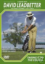 David LEADBETTER  DVD-TAKING IT TO THE COURSE-