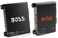 BOSS AUDIO R1100M 1100W Mono Car Amplifier + BOSS R1004 4 Channel Audio Amplifer