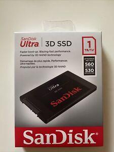 1TB (1000GB) SanDisk SSD Ultra 3D Internal (SDSSDH3-1T00-G25)