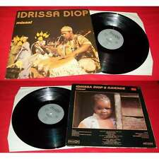 IDRISSA DIOP - Misaal LP French Press Afro Cuban Jazz Celluloid