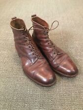 Vintage 1930s British Army Officers Ankle Ammo Ammunition Boots Northampton