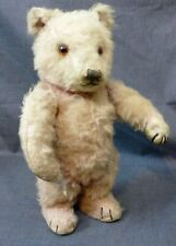 RARE ORIGINAL STEIFF TEDDY BEAR , PINK TEDDY BABY , OLD STEIFF
