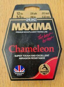 Maxima One Shot Chameleon Fishing Line  12lbs (5.5 Kg) 220 Yds (200 M) New