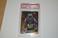 2015 TOPPS CHROME TODD GURLEY ROOKIE 60TH ANNIVERSARY PSA 9 RAMS