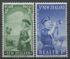 """No: 74834 - NEW ZEALAND - """"HEALTH"""" - LOT OF 2 OLD STAMPS - MH!!"""