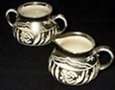 GIBSONS Cream/Milk Jug & Sugar Bowl Staffordshire c.1950