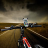 Phone Holder Bike Mount Bicycle Handlebar & Motorcycle Cradle iPhone Android GPS