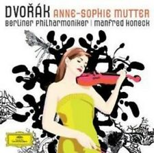 Anne-Sophie Mutter Berliner Philharmoniker Manfred Honeck - Dvorák (NEW CD)