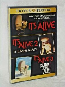 Its Alive 1/Its Alive 2/Its Alive 3 (DVD, 2009, 2-Disc Set) NEW Michael Moriarty