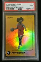 2019 Coby White Panini Hoops Arriving Now Holo No. 16 PSA 9