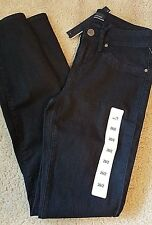 Rich & Skinny Womens Stretch Skinny Jeans Marilyn Tar Black Jeans 27/4