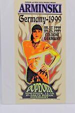 M. Arminski Germany 1999 Popdom Handbill Flyer