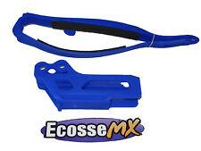 Yamaha Wr250f Wr450f WRF 09-12 enduro azul brazo oscilante cadena basculante &