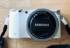 Samsung NX NX500 28.2MP Digital Camera - White (Kit w/ 16-50mm Lens)