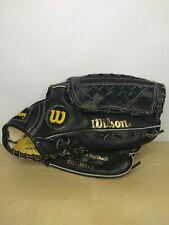 Wilson OG1 A9810 13in Softball Glove Black and Gold