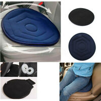 Memory Foam Rotating Swivel Car Chair Seat Cushion Mobility Aid Home Office