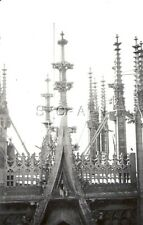 WWII Original German Army Large RP- Liberated- Metz Cathedral- Spires- France 40