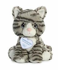 "Aurora Precious Moments 8.5"" Cinder Kitten Stuffed Animal"