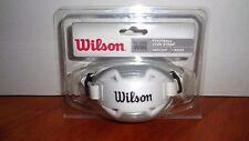 Wilson Adult Football Helmet Chin Strap Guard Hard Cup Shield 4 Point WTF985000