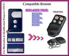 Motorlift / Chamberlain 84330E 84333E 84335E remote control replacement 433,92Mh