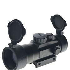 2x40 Green Red Dot Sight Scope Tactical Optics Rifle Scope Fit 11/20mm rail