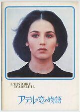 The Story of Adele H JAPAN PROGRAM Francois Truffaut, Isabelle Adjani, I. Gitlis