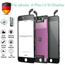 Für iPhone 6 PLUS LCD Display mit Retina Glas Touch Scheibe Bildschirm SCHWARZ
