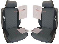 Coppia Schienali Copri Sedile per Nissan Juke personalizzati con ricami