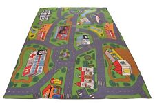 "NURSERY EDUCATIONAL KIDS RUGS TRAFFIC DESIGN CHILDREN PLAY RUG 59"" x 78"" RUG"