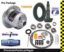 "Yukon DuraGrip 30 Spline GM 8.6"" Posi LSD 4.56 Ratio Gear Set Timken Master Kit"