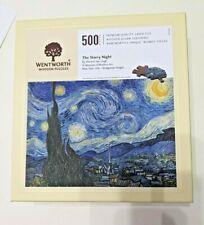 Wentworth wooden jigsaw puzzles - art - Van Gogh Starry Night - 500 pieces