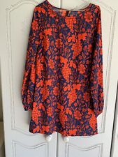 Ladies Vero Moda Polyester Lightweight Longsleeve Dress Size Med Pre Owned