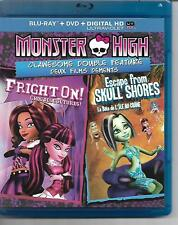 Monster High! Bluray! Double Feature! Fright On! Escape From Skull Shores!