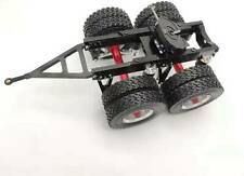 1/14 Tamiya Semi Tractor Trailer 2 Axles Dolly Pin Mount 5th Wheel Coupler