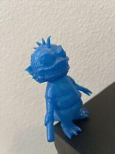 Cure Toys Hellbox Dino Reptile Blue GID 2012 mishka Boogie Man Nagnagnag Kaiju
