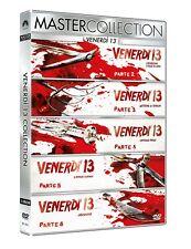 Freitag der 13. - Teil 2+3+4+5+6   -DVD-   5 Filme  -deutscher Ton-  Jason #Neu#