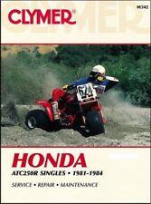 Honda ATC250R Singles, 1981 - 1984 Workshop Manual