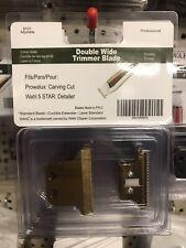 Gold Detailer Extra Wide Blade Set Trimmer For Wahl NEW DETAILER