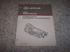 1993 Lexus LS400 SC400 LS SC 400 A340E A341E Transmission Service Repair Manual