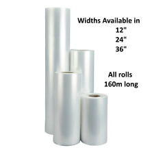 More details for clear polythene layflat tubing (lft) 250 gauge (62.5 micron) - sold by 160m roll