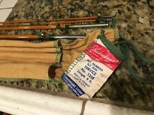 Vintage USA 1940s BAMBOO Fly Rod SHAKESPEARE #1358 Mint Condition Unused