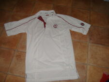 HUNTS COUNTY BOYS CRICKET SHIRT,CAMBRIDGE CRICKET CLUB,SIZE 13-14 YEARS,G/C