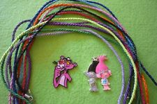 Pink Panther/ Trolls Necklace/Keychain