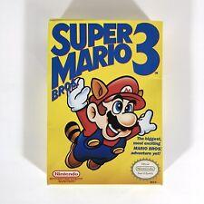 Super Mario Bros 3 NES Nintendo Box Only - Left Side Bros First Print - No Game